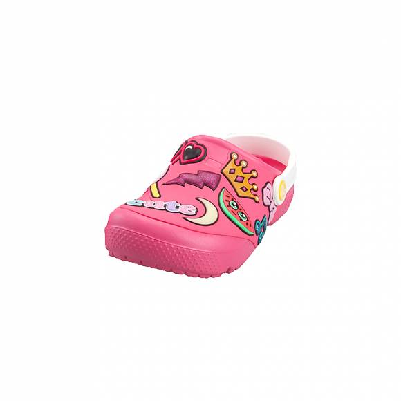 Παιδικά Clog Crocs Fl Playful 205444 6NP Patches clg K paradise pink Roomy Fit