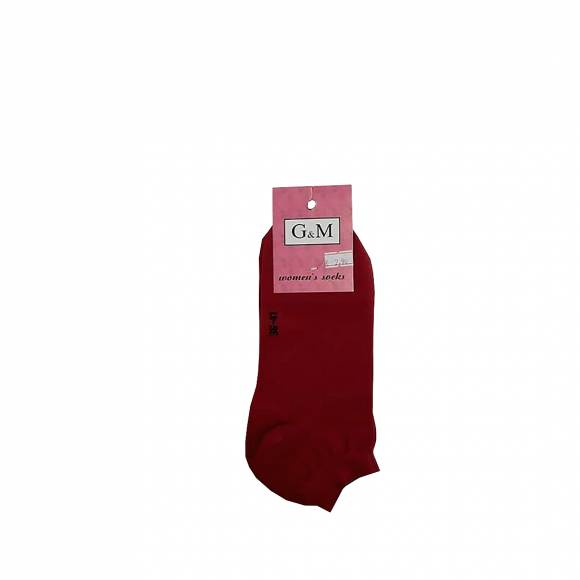 G & M SOCKS 464 DARK RED