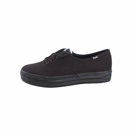 Γυναικεία Sneakers Keds Triple Black/Black WF56551