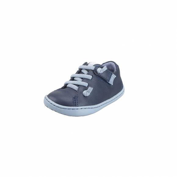 Παιδικά Δερμάτινα Sneakers Camper 80212 071 Peu Cami FW Sella Denim Path FW Shadow