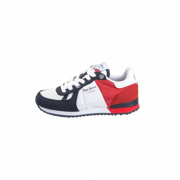 Παιδικά Sneakers Pepe Jeans PBS30391 255 Sydney Basic SS19 Red