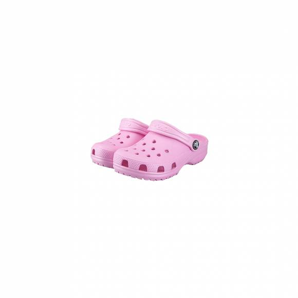 CROCS 204536-6I2 CLASSIC CLOG KIDS CARNATION ROOMY FIT