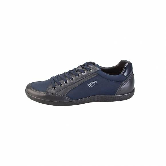 Boss Shoes 01301 Blue Leather