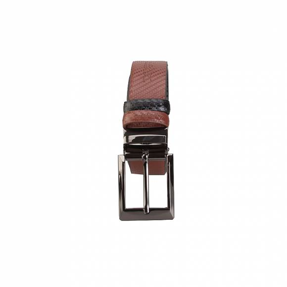 Verraros Uomo 1106 LightBrown Black Leather
