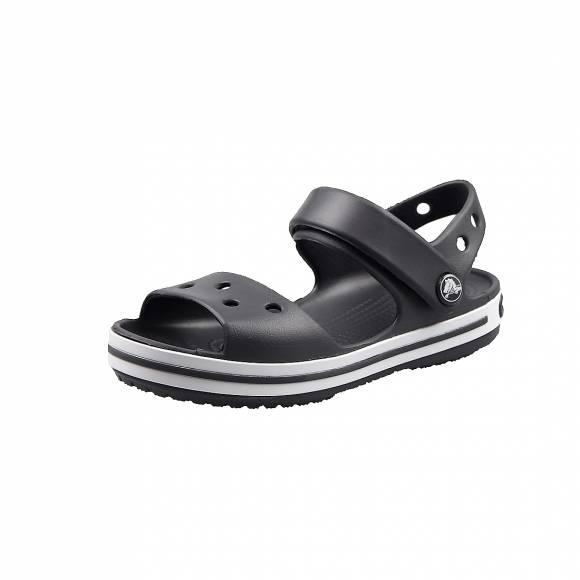 Παιδικά Σανδάλια Crocs 12856 014 Crocband Sandal kids Graphite relaxed fit