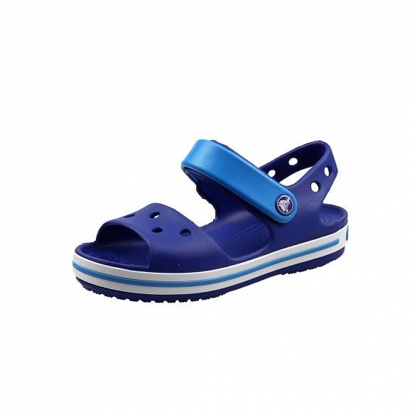 Παιδικά Σανδάλια Crocs 12856 4BX Crocband Sandal kids Cerulean Blue Ocean relaxed fit