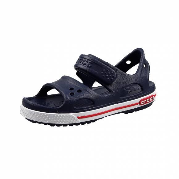 Παιδικά Σανδάλια Crocs 14854 462 crocband II Navy White sandal ps relaxed fit