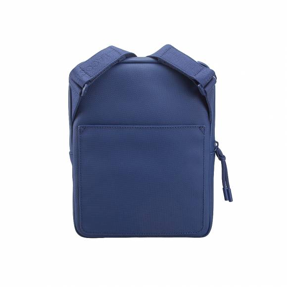 Ανδρικό τσαντάκι ώμου Lacoste NH2885PO 024 Estate Blue M flat crossover bag pvc