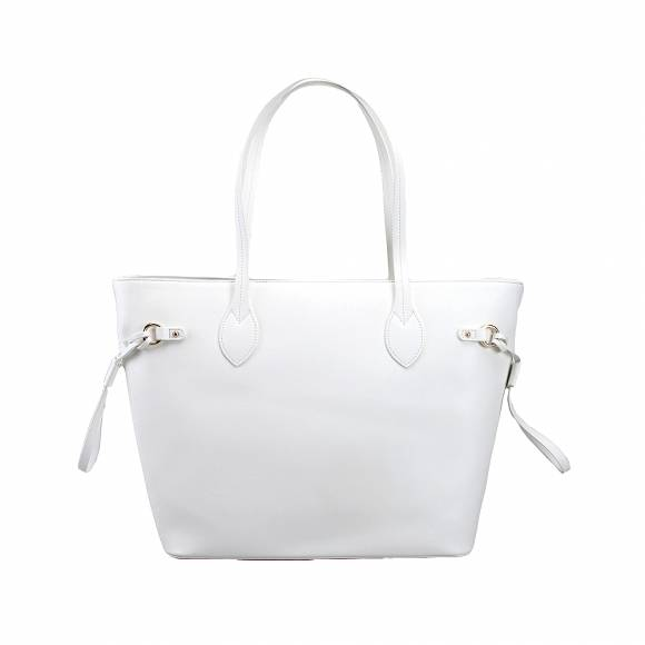 La Martina 41W301 N0020 00002 Off White shopper bag Valentina