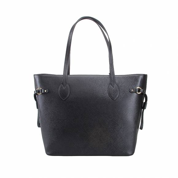 La Martina 41W301 N0020 09999 Black shopper bag Valentina