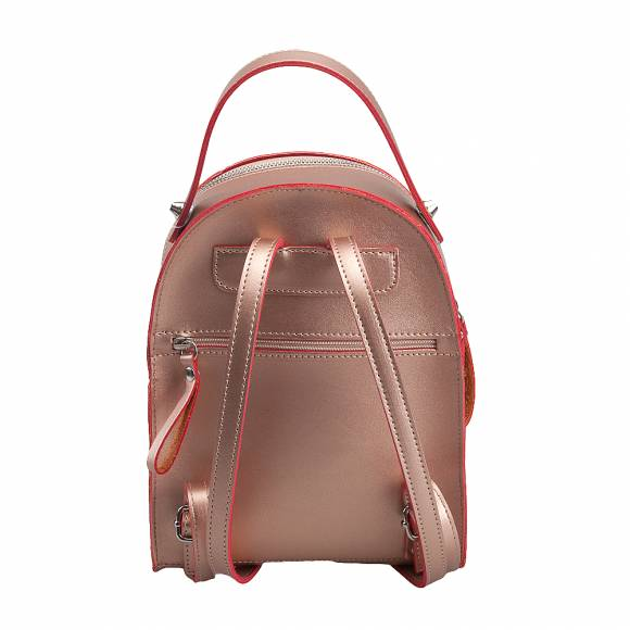Γυναικεία Backpack Eco Leather Pierro Accessories 90551EC26 Bronze