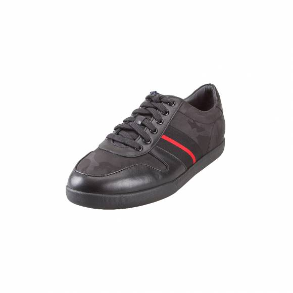Ανδρικά Δερμάτινα Sneakers Polo Ralph Lauren CAMILO SK ATH BLACK 816735620001