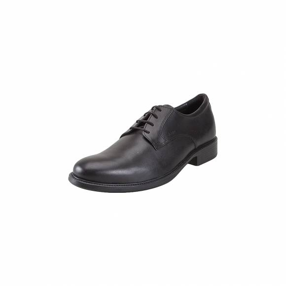 Geox U52W1D 00043 C9999 Carnaby smo leather Black everyday comfort shoes
