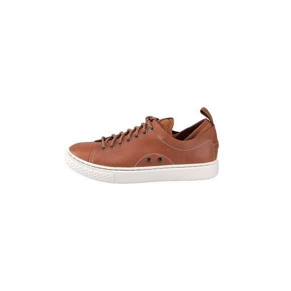 Ανδρικά Δερμάτινα Sneakers Polo Ralph Lauren Dunovin sk ath Brown 816713105001