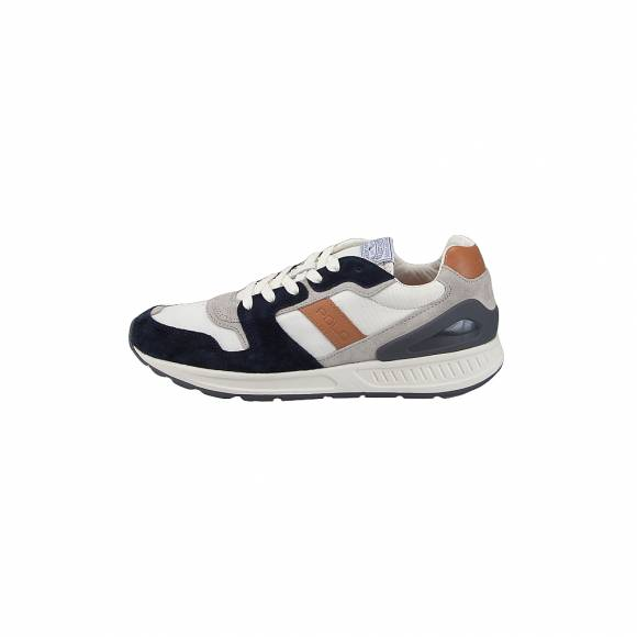 Ανδρικά Δερμάτινα Sneakers Polo Ralph Lauren Train100 cls sk ath Navy 809710298001