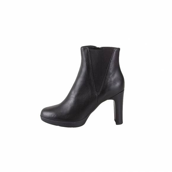 Geox D84AEH 00085 C9999 Annya high nappa Black ankle boots