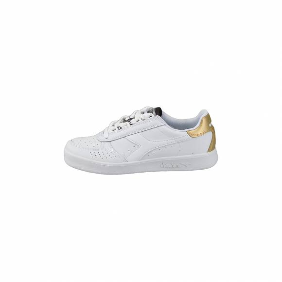 Diadora B Elite wn 501 173993 01 C1070 White Gold