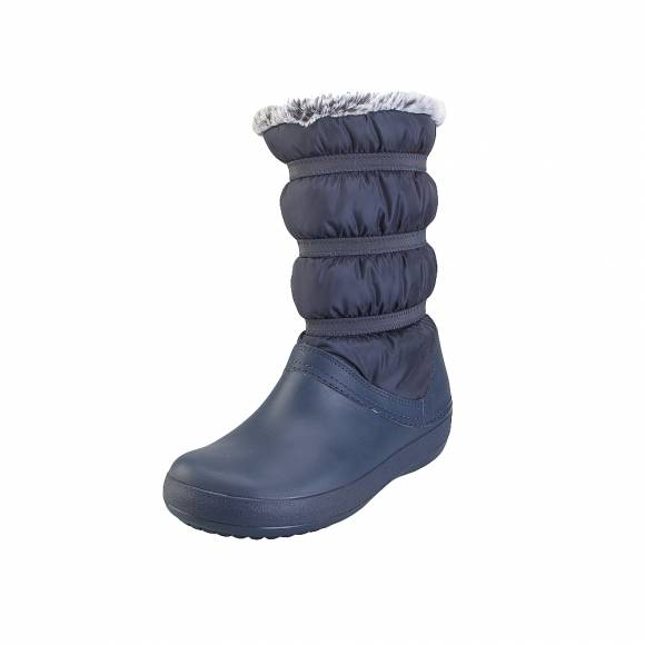 Crocs crocband winter boot w Navy relaxed fit 205314 410