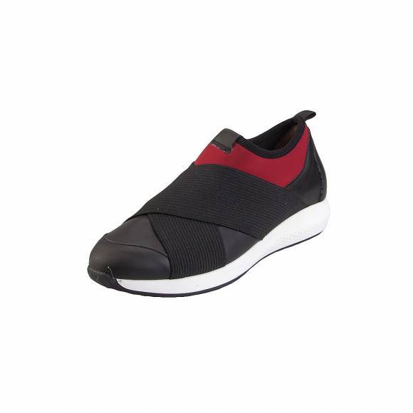Toutounis 31231 Black red leather