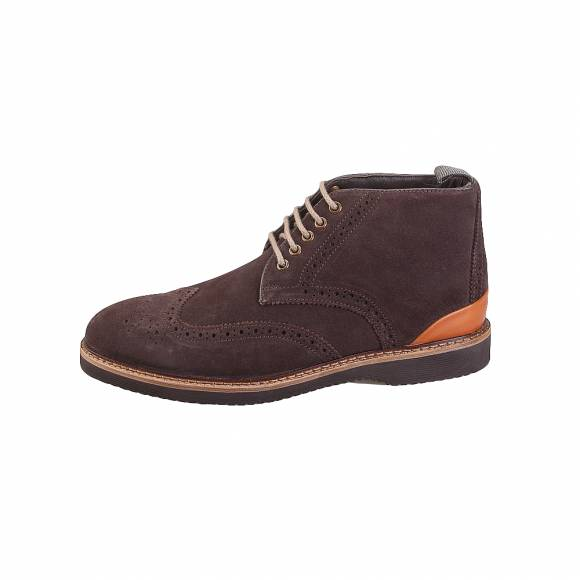 Gk uomo X6732 4806 KD Brown suede