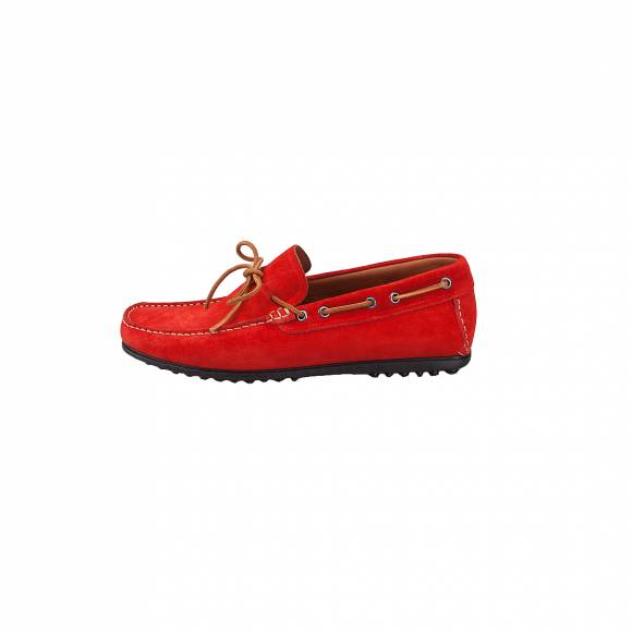 DAMIANI 851 RED SUEDE