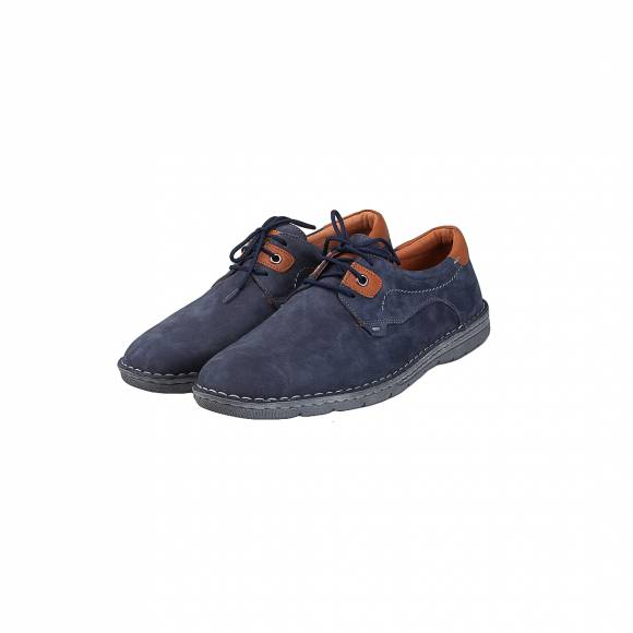 DAMIANI 561 BLUE SUEDE