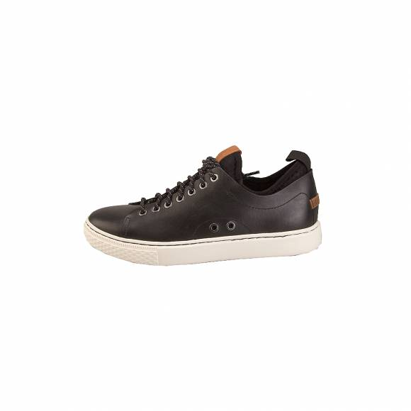Ανδρικά Δερμάτινα Sneakers Polo Ralh Lauren 816713105004 Dunovin sk ath Black