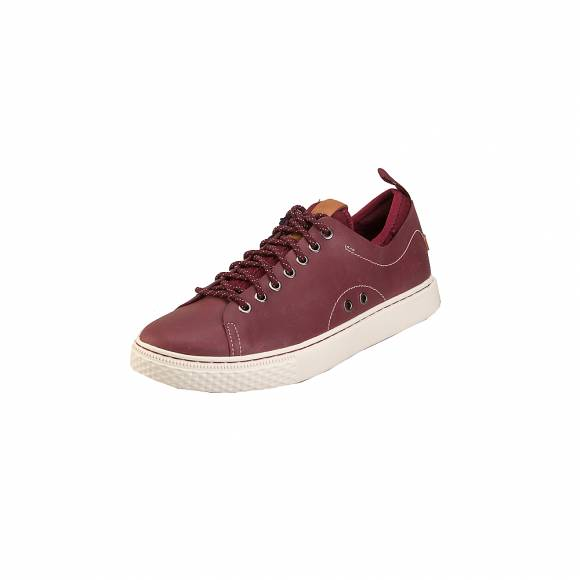 Ανδρικά Δερμάτινα Sneakers Polo Ralph Lauren Dunovin Sk ATh Red 816713105005