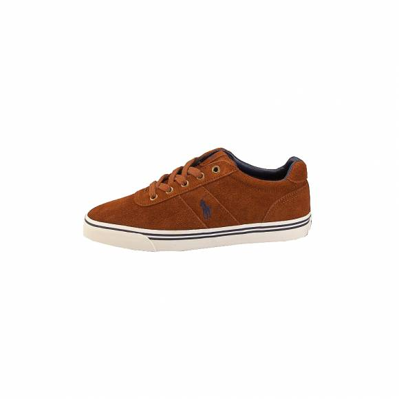 Ανδρικά Δερμάτινα Sneakers Polo Ralph Lauren Hanford Sk Vlc New Snuff 816641859003