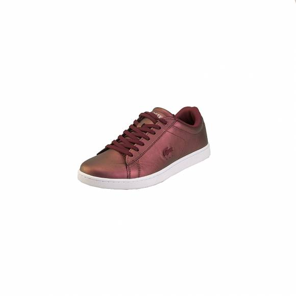 Lacoste Carnaby Evo 318 5 Spw 7 36SPW00132H2 Burg Wht Leather