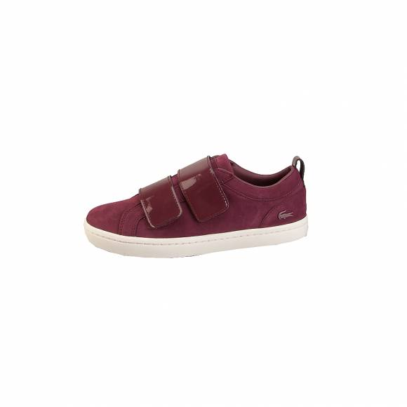 Lacoste Straightset Strap3181 7 36CAW0046BB2 Caw Burg Burg Nubuck |Synthetic