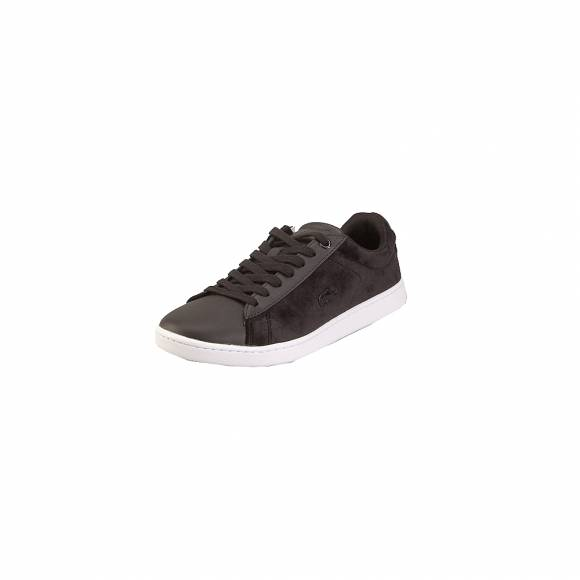 Lacoste Carnaby Evo 318 8 Spw 7 36SPW0015312 Blk Wht Textile Leaher