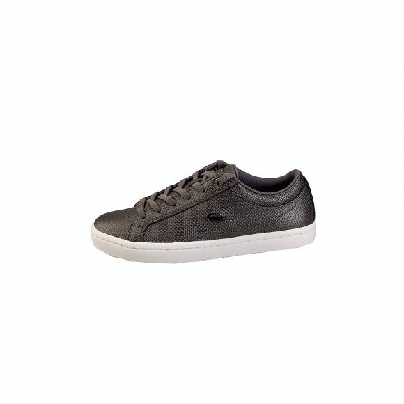 Lacoste Straightset 318 2 Caw  7 36 CAW0038312 Blk Wht leather