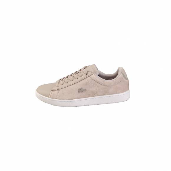 Lacoste Carnaby Evo 318 8 Spw 7 36SPW001525Y Gry Wht Textile Leather