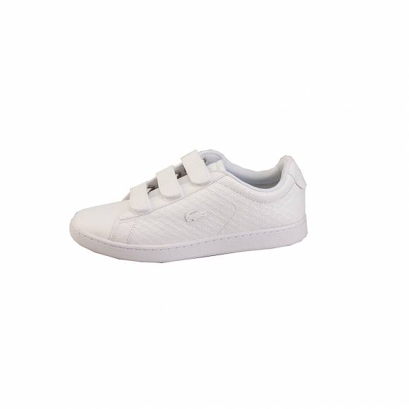 Lacoste Carnaby Evo Strap 4181 Spw 7 36SPW002221G Wht Wht Leather