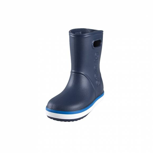Crocs Crocband rain boot k navy bright cobalt relax fit205827 4KB