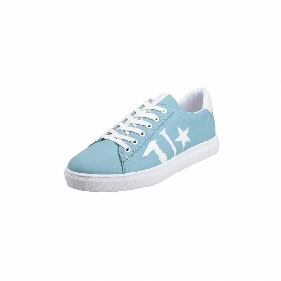 Γυναικεία Sneakers Trussardi Jeans Sneakers Synthetic Leather    79A00308 9Y099999 U140 Laser Tj Logo Sky blue