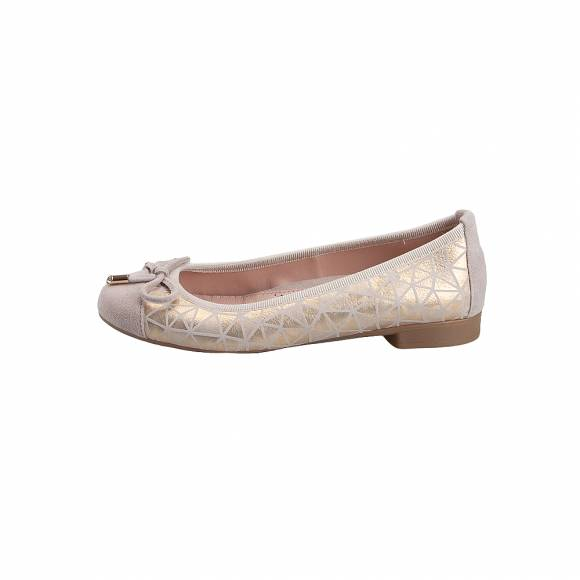 Toutounis F2348 Nud suede Gold trivial