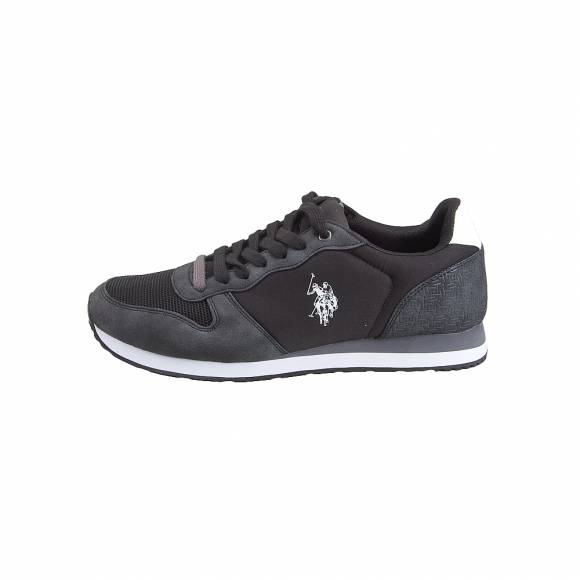 Ανδρικά Sneakers Us Polo Assn Soren Black White