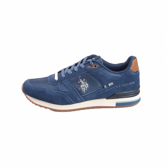 Ανδρικά Sneakers Us Polo Assn Wilde1 Suede Avio