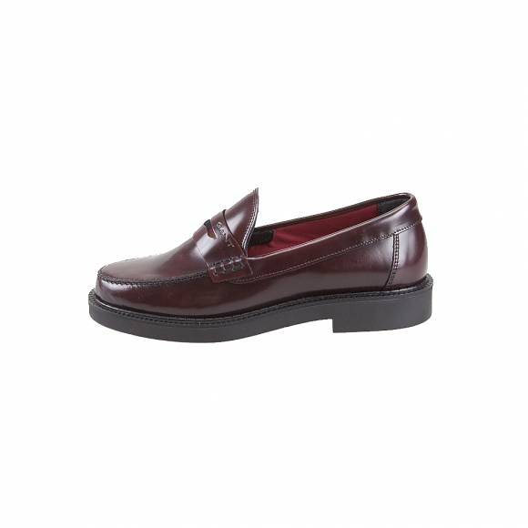 Γυναικεία Δερμάτινα Loafers Gant Kelly 19571895 Polido leather G537 port red