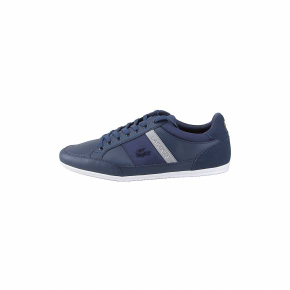 Lacoste Chaymon 318 3 us cam Nvy Gry 7 36CAM0011178 Leather Synthetic textile