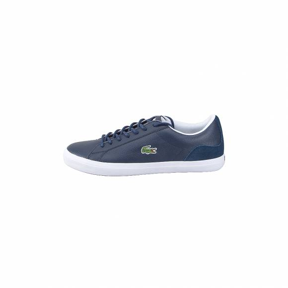 Lacoste Lerond 318 3 cam Nvy wht 7 36CAM0048092 Leather