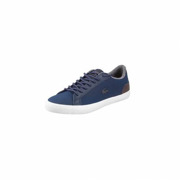 Lacoste Lerond 318 2 Cam Nvy Brw 7 36CAM00472Q8 Lth Syn