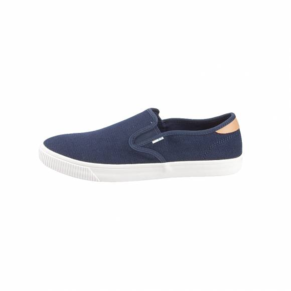 Toms 10013230 Nvy Heritage canvas MN Baja slipon