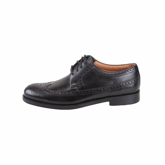 Ανδρικά Δερμάτινα Oxford Clarks Colling Limit 26119376 Black leather