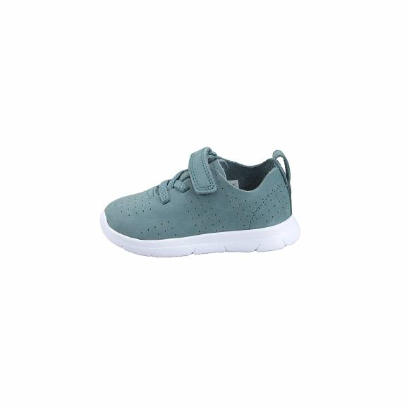 Παιδικά Δερμάτινα Slippers Clarks Ath Elite T 26141316 Teal  Nubuk