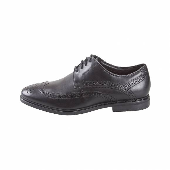 Ανδρικά Δερμάτινα Oxford Clarks Banbury Limit 26132242 Black Leather