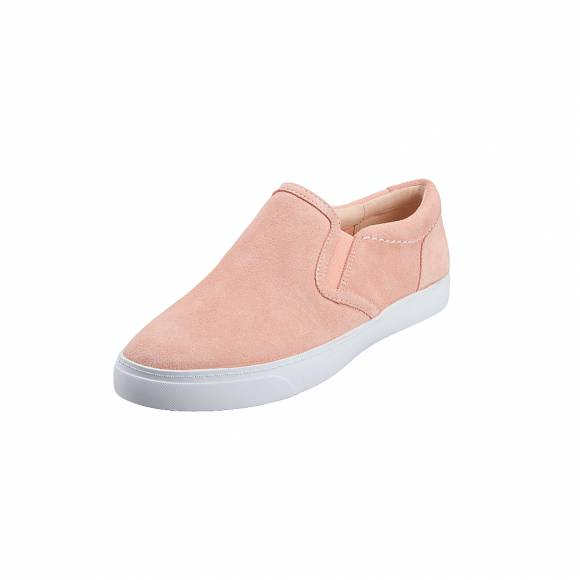 Γυναικεία Δερμάτινα Sneakers Clarks Glove Puppet 26142371 Light Pink