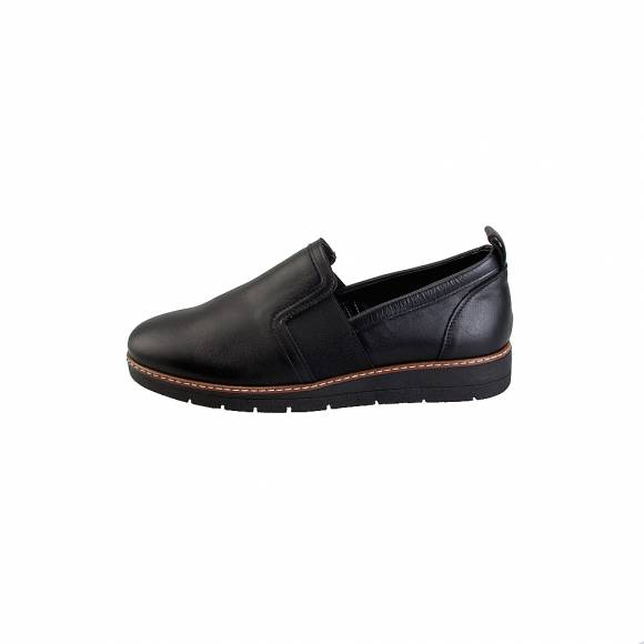 Toutounis slipper 7920 Black leather